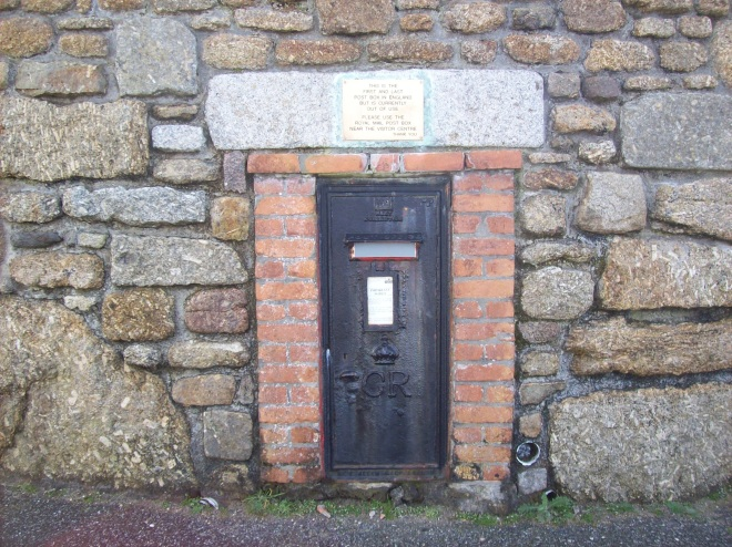 The first and last postbox in England